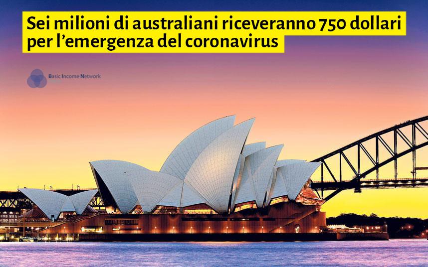 Australia In Sei Milioni Riceveranno 750 Dollari Per Stimolare L